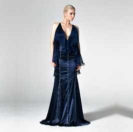 """Port of London"" evening gown"