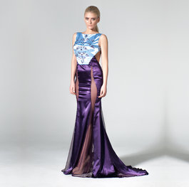 """The Garden in Flower"" heaven evening gown"