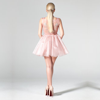 """Lilacs in the Sun"" ballerina dress"