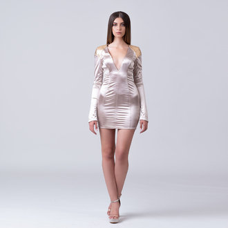 """Outer Space"" club dress"