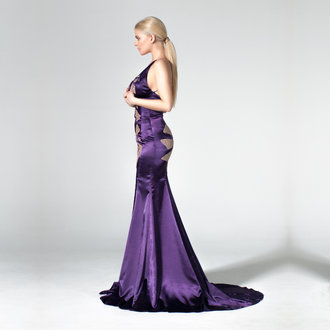 """Water Lilies"" evening gown"
